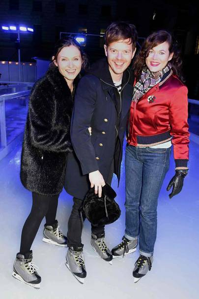 Sophie Ellis-Bextor, Richard Jones and Jasmine Guinness