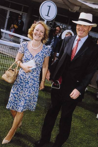 Mrs John Gosden and John Gosden