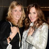 Arabella Pollen and Trinny Woodall