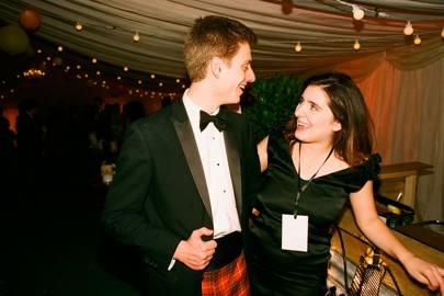 Barney Bruce-Smythe and Natasha Franks