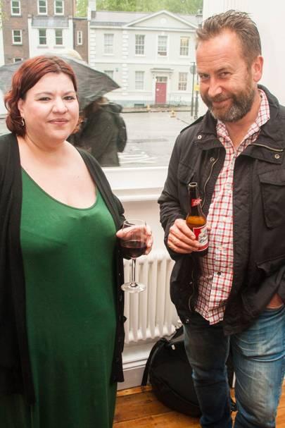 Emma Burnell and Simon Cadman