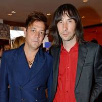 Jamie Hince and Bobby Gillespie