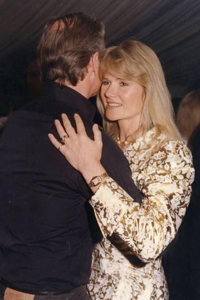 Barry Dinan and Lady Charlotte Dinan