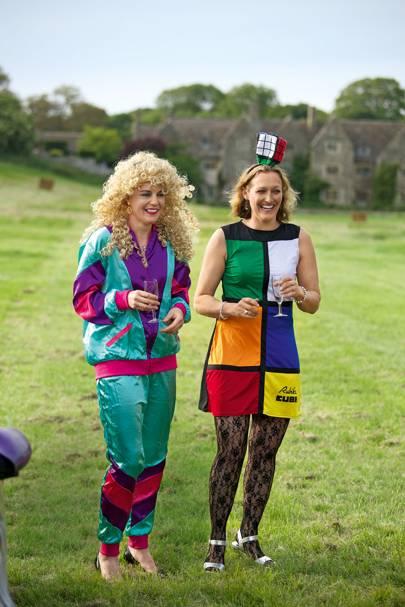 Davina Longsdon and Emma Wood