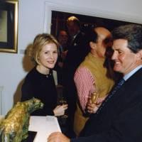 Viscountess Linley and Viscount Petersham