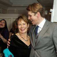 Celia Imrie and Ben Elliot