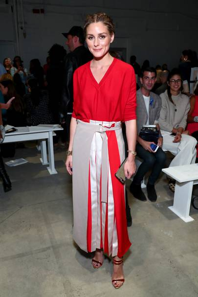 Olivia Palermo at Prabal Gurung