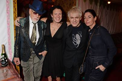 Antony Price, Katie Grand, Nick Rhodes and Mary McCartney