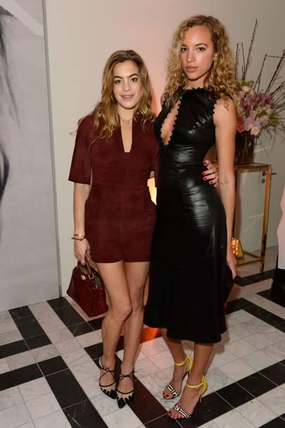 Chelsea Leyland and Phoebe Collings-James