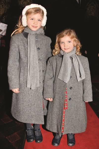 Hannah Quinn and Georgia Quinn