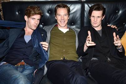 Harry Treadaway, Benedict Cumberbatch and Matt Smith