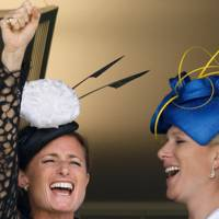 Dolly Maude and Zara Tindall