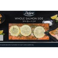 Lidl whole salmon side