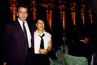 John McAslan and Mrs Marco Palmieri