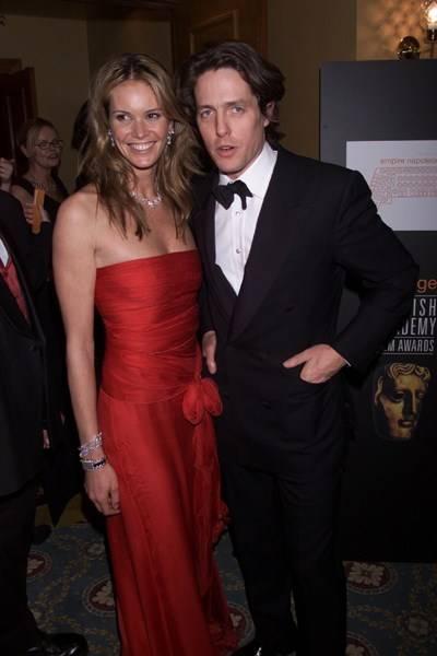 Elle Macpherson and Hugh Grant