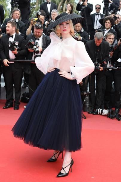 Elle Fanning wearing Dior, 2019
