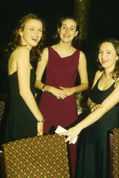 Alexandra Hallam-Peel, Lady Sarah Villiers and Arabella Dancy