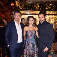 Laurent Feniou, Genevieve Gaunt and Roland Mouret