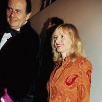 Barry Humphires and Mrs Barry Humphries