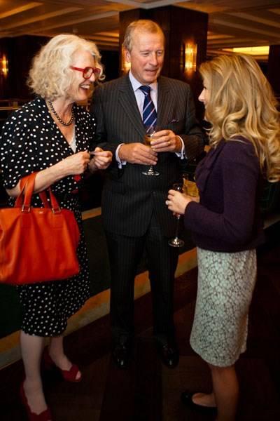 Caroline Conran, Derek Picot and Sophie Conran