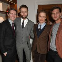 Allen Leech, Douglas Booth, Freddie Fox and Jeremy Irvine