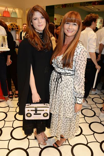 Rose Leslie and Deborah Lloyd