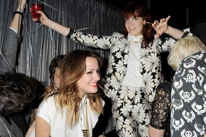 Caroline Flack and Florence Welch