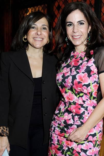 Maria Teresa Arida and Jackie De Botton