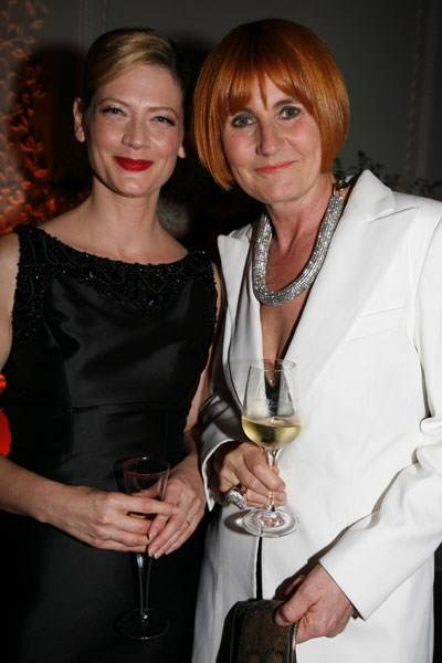 Sophie Ward and Mary Portas