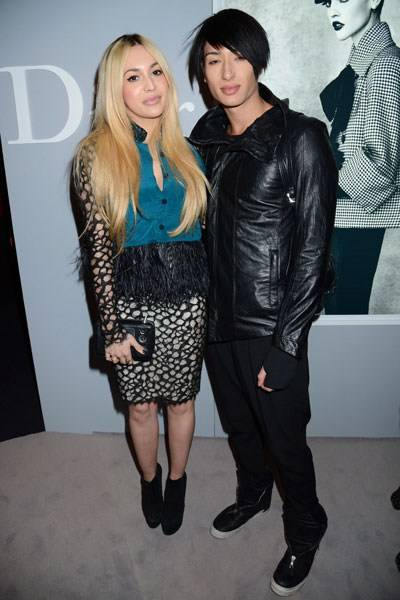 Zara Martin and Natt Weller