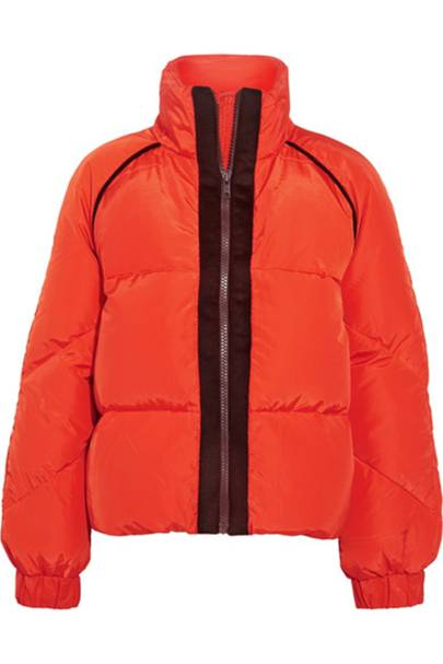 Ganni puffer jacket
