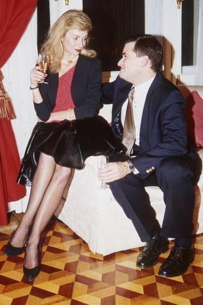 Mrs Alexander Schuss and Alexander Schuss