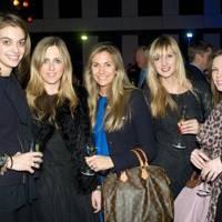 Maria Lefkaritis, Sophie Shelton, Rebecca Alers-Hankey, Melissa Ruenz and Moira Hitchcock