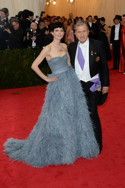 Stella Tennant and Mario Testino