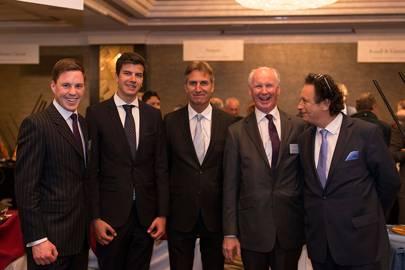 Chris Horne, Junior Fuchs, Gerhard Fuchs, James Horne and Peter Hofer