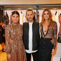 Giovanna Battaglia Engelbert, Farid Rebbali and Bianca Brandolini d'Adda