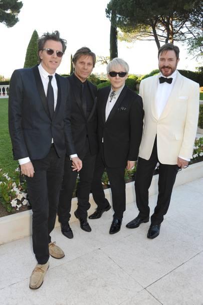 John Taylor, Roger Taylor, Nick Rhodes and Simon Le Bon