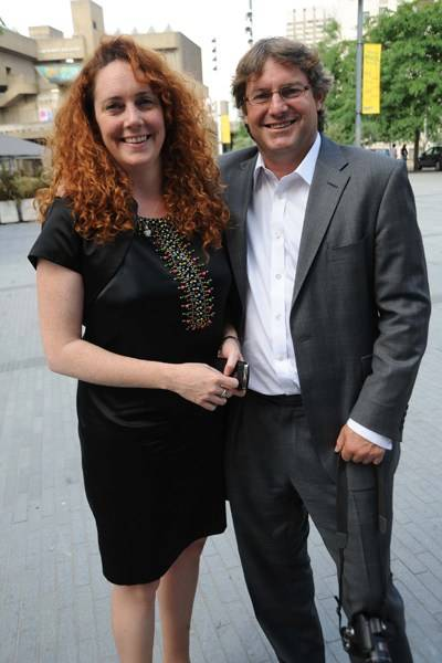 Rebekah and Charlie Brooks