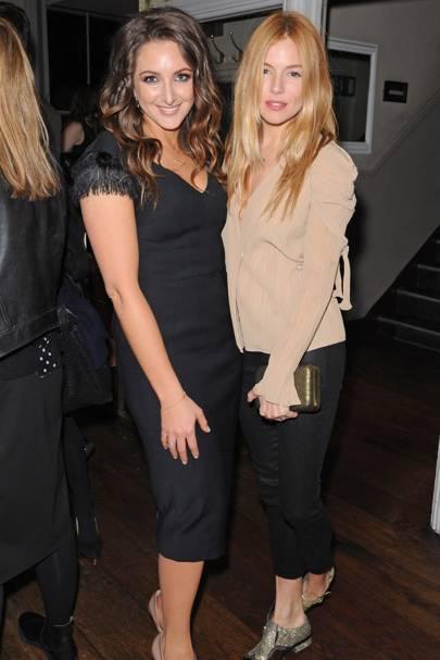 Natasha Corrett and Sienna Miller