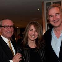 Liam Lambert, Sarah Miller and George Morgan-Grenville