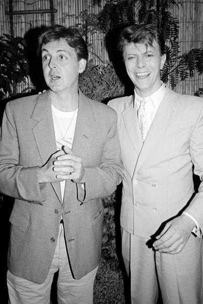 With Paul McCartney