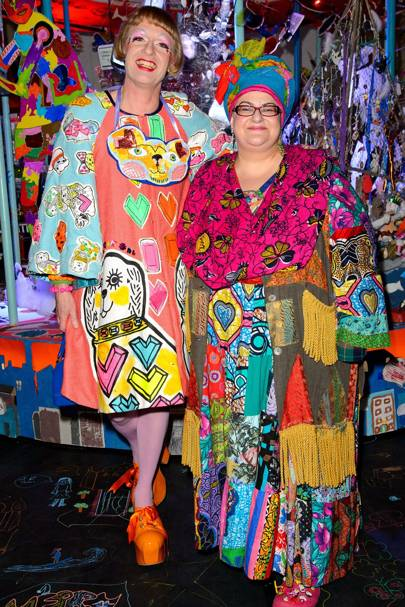 Grayson Perry and Camila Batmanghelidjh