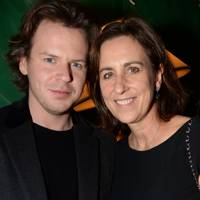 Christopher Kane and Kirsty Wark