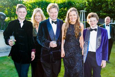 Hugh Stanley, Frances Stanley, Peter Stanley, Isobel Stanley and Algernon Stanley