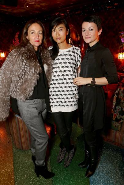 Daniela Agnelli, Mimi Xu and Kay Barron