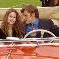 Lambert Wilson and Florence Darel