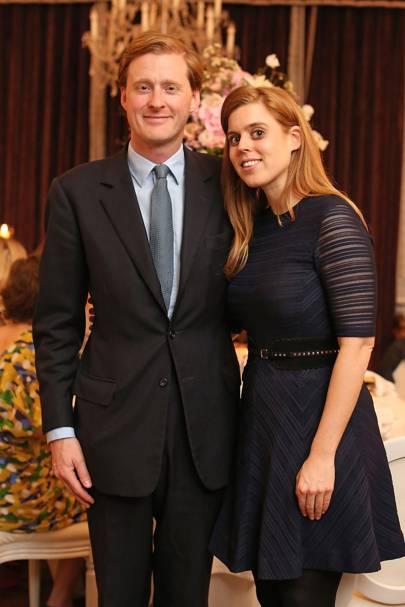 Tom Naylor-Leyland and Princess Beatrice