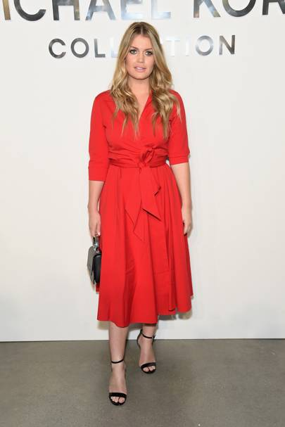 Lady Kitty Spencer at Michael Kors