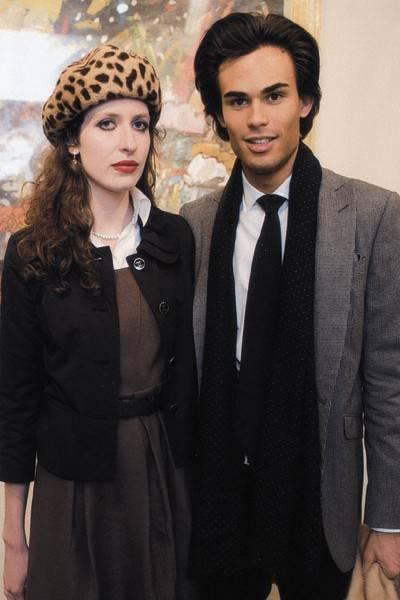 Simone Stewart and Mark Orlov-Romanovsky