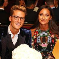 Oliver Proudlock and Roxie Nafousi